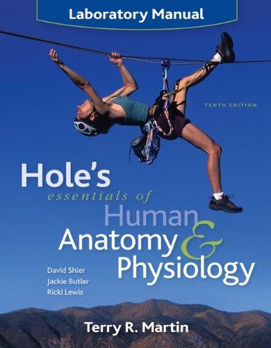 9780072965674: Laboratory Manual to accompany Hole's Essentials of Human Anatomy & Physiology