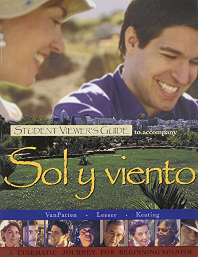 9780072965780: Student Viewers Guide to accompany Sol y viento