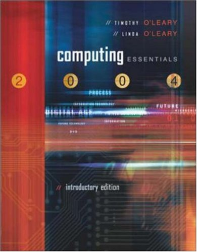 9780072966169: Computing Essentials 2004 Introductory w/ PowerWeb, Interactive Companion CD, and O'Leary Expansion CD