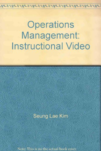 9780072966312: Operations Management: Instructional Video