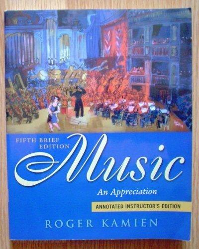 kamien music an appreciation pdf