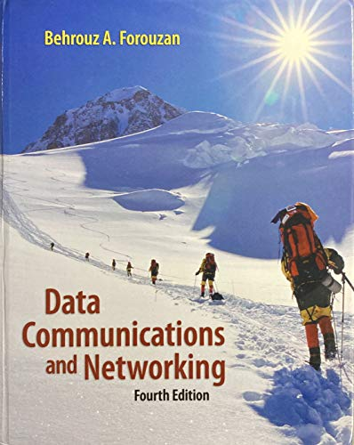 Data Communication And Networking Ebook By Forouzan