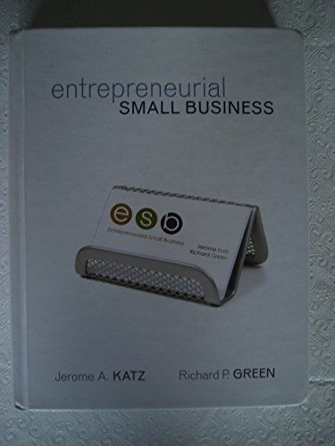 9780072967982: Entrepreneurial Small Business