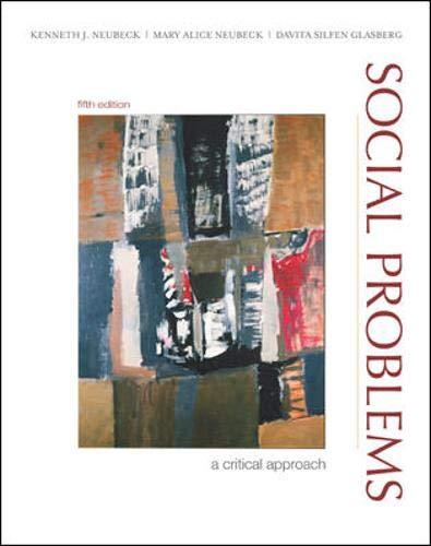 9780072968040: Social Problems: A Critical Approach