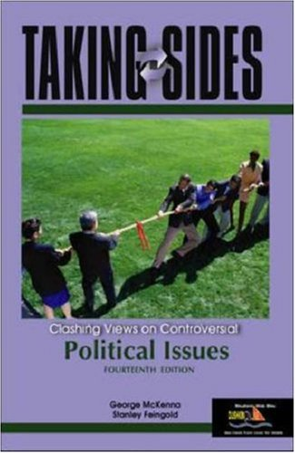 9780072968880: Taking Sides: Clashing Views on Controversial Political Issues (Taking Sides: Political Issues)