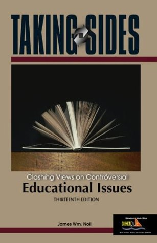 9780072968903: Taking Sides: Clashing Views on Controversial Educational Issues (Taking Sides: Educational Issues)