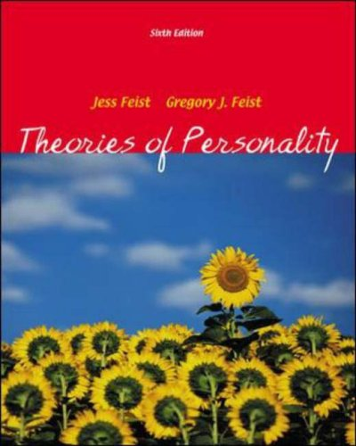 9780072969801: Theories Of Personality