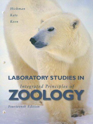 Laboratory Studies in Integrated Principles of Zoology: Cleveland Hickman Jr.,