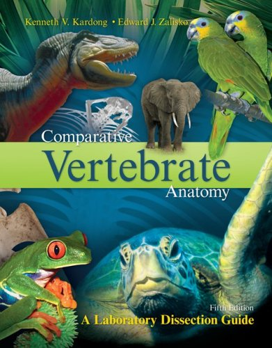 9780072970081: Comparative Vertebrate Anatomy:  A Laboratory Dissection Guide