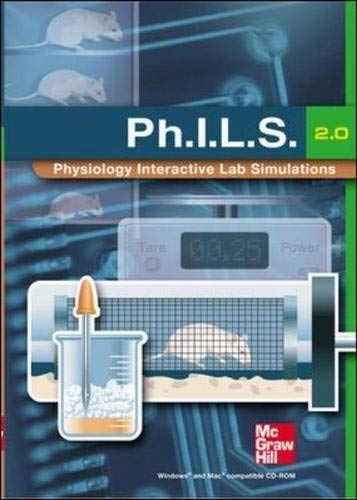 9780072970098: (Ph.I.L.S.) Physiology Interactive Lab Simulations 2.0 CD-ROM