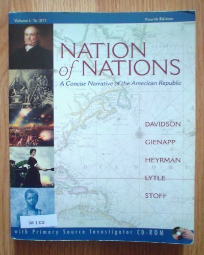 9780072970883: NATION OF NATIONS,CONCISE V.I-