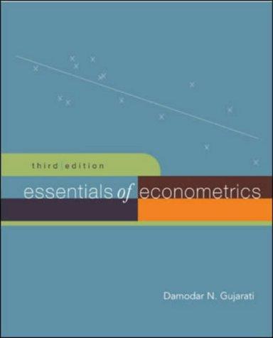 9780072970920: Essentials of Econometrics