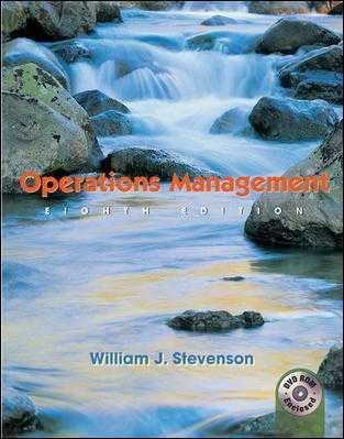 9780072971033: Operations Management