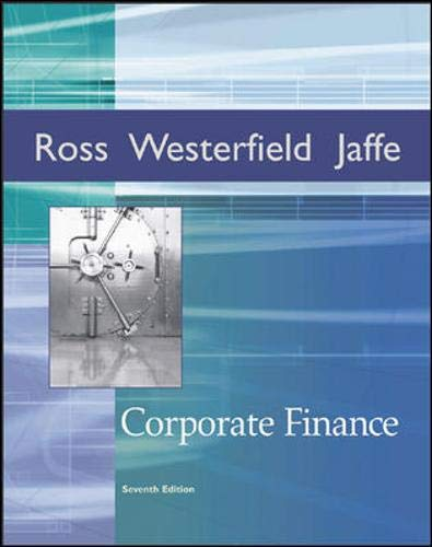 9780072971231: Corporate Finance + Student CD-ROM + Standard & Poor's card + Ethics in Finance PowerWeb (Irwin Series in Finance)
