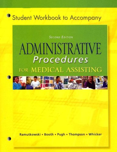 WB t/a Administrative Procedures for Medical Assisting: Barbara Ramutkowski, Kathryn