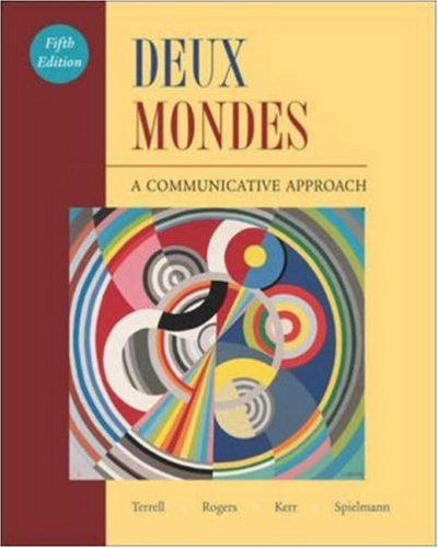 9780072971873: Deux mondes: A Communicative Approach Student Edition with Online Center Bind-In Card
