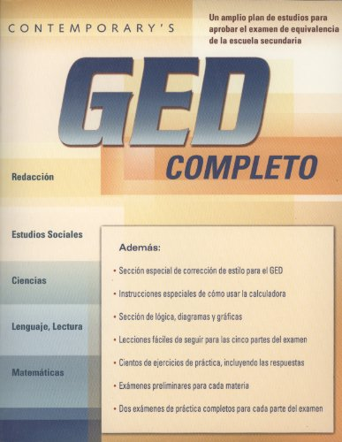 9780072971910: Contemporary's GED Completo