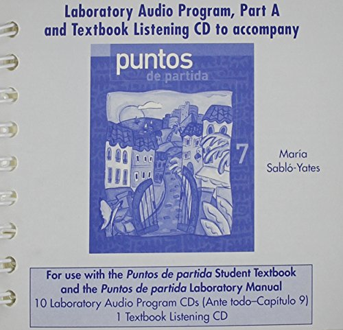 9780072972030: Student Audio CD Program Part A