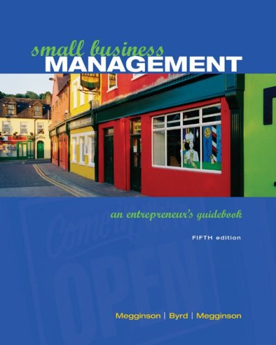 9780072972566: Small Business Management: An Entrepreneur's Guidebook