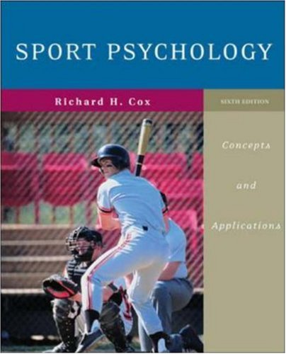 9780072972955: Sport Psychology: Concepts and Applications