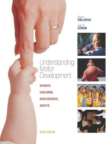 9780072972962: Understanding Motor Development: Infants, Children, Adolescents, Adults