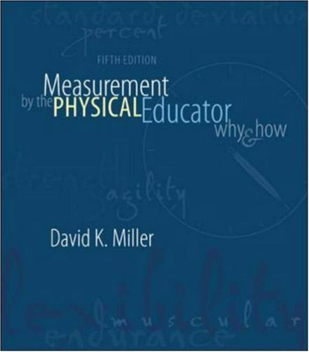 Measurement By The Physical Educator: Why and: David Miller