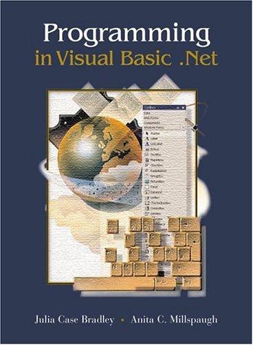 9780072973327: Programming in Visual Basic.Net w/ 5-CD VB.Net 2002 software set