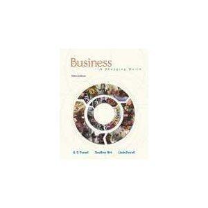 Business. A Changing World 5th Edition: Ferrell, O. C.; Hirt, Geoffrey; Ferrell, Linda