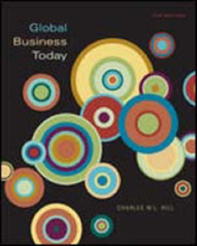 9780072973716: Global Business Today