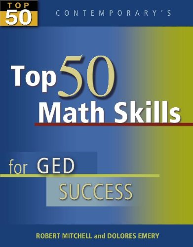 9780072973839: Contemporary's Top 50 Math Skills for GED Success