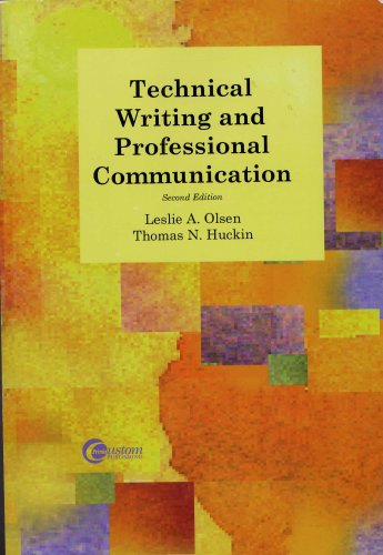 9780072974089: Technical Writing and Professional Communication