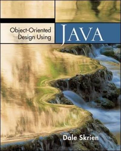 9780072974164: Object-Oriented Design Using Java