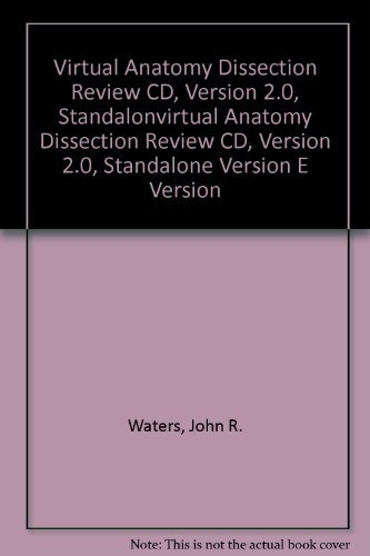 9780072974317: Virtual Anatomy Dissection Review CD, Version 2.0, Standalone Version