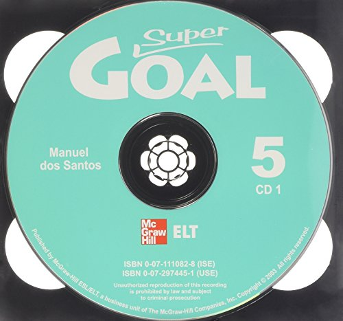 9780072974454: Super Goal Book 5 Audio CD: Bk.5