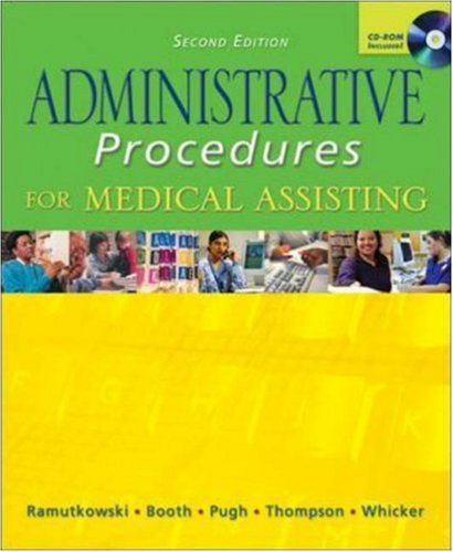 9780072974508: MP: Administrative Procedures with Student CD & Bind-in Card