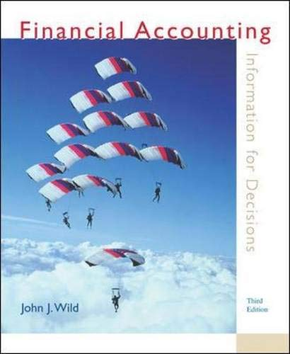 9780072974720: MP Financial Accounting: Information for Decisions w/ Topic Tackler & Net Tutor