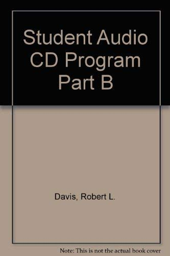 Student Audio CD Program Part B: Davis,Robert L., Siskin,H.