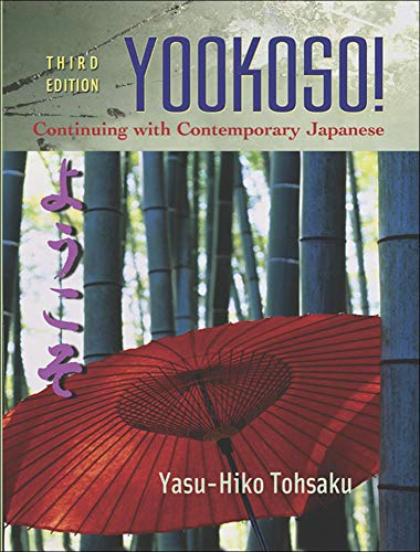 9780072974966: Yookoso! Continuing with Contemporary Japanese Student Edition with Online Learning Center Bind-In Card