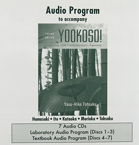 9780072974973: Student Audio CD Program t/a Yookoso! Continuing with Contemporary Japanese