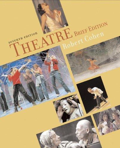 9780072975055: Theatre: Brief Edition