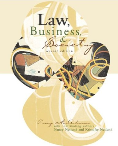 9780072975406: Law, business and Society with powerweb