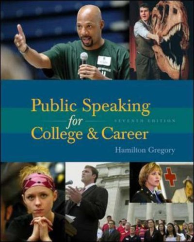 9780072975659: Public Speaking for College and Career with SpeechMate CD-ROM 3.0