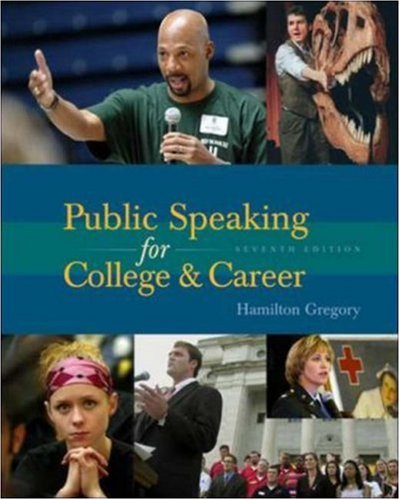 9780072975659: Public Speaking for College and Career