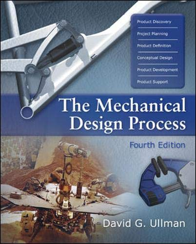 9780072975741: The Mechanical Design Process (Mcgraw-Hill Series in Mechanical Engineering)