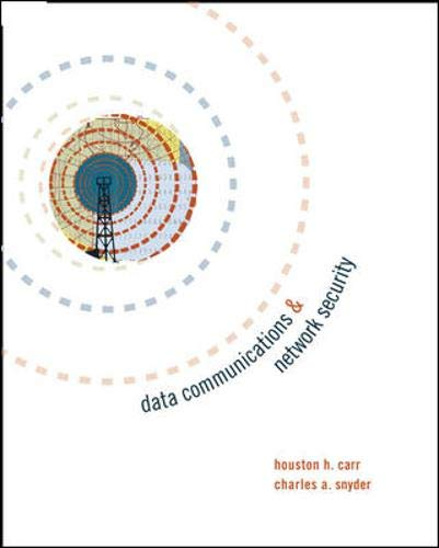 9780072976045: Data Communications and Network Security