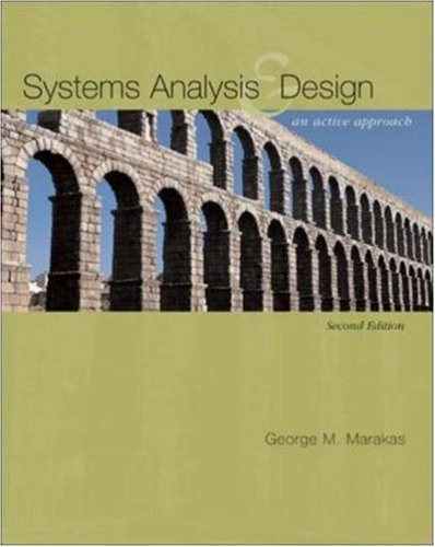9780072976076: Systems Analysis & Design: An Active Approach