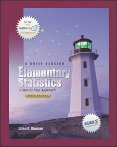 9780072976212: Elementary Statistics: A Step By Step Approach
