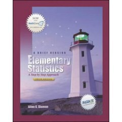 9780072976236: Student Study Guide for use with Elementary Statistics: A Step by Step Approach, A Brief Version
