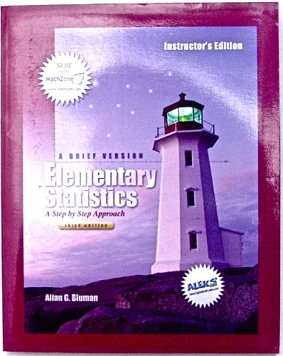 9780072976274: Elementary Statistics: A Brief Approach - A Step by Step Approach