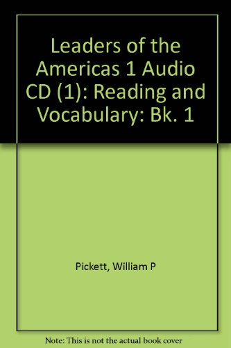 9780072976571: Leaders of the Americas: Reading and Vocabulary- BOOK 1 Audio CD